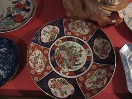 Japanese Imari platter