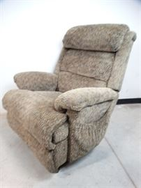 Brown Upholstered Lift Chair Recliner