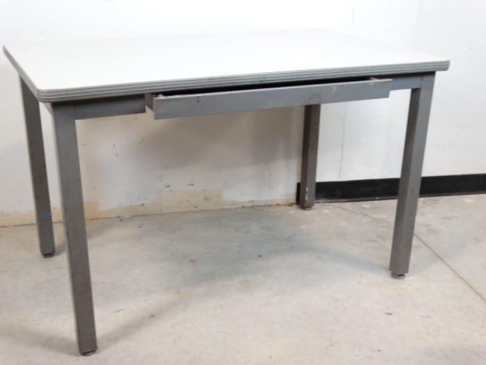 Formica Top Steel Desk