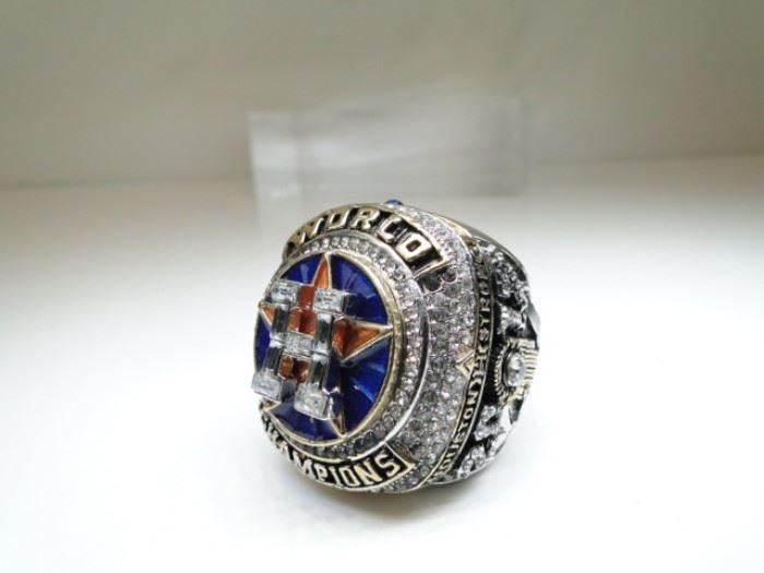 Houston Astros 2017 World Championship Ring Dark