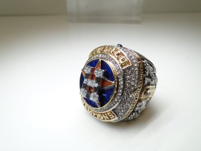 Houston Astros 2017 World Championship Ring