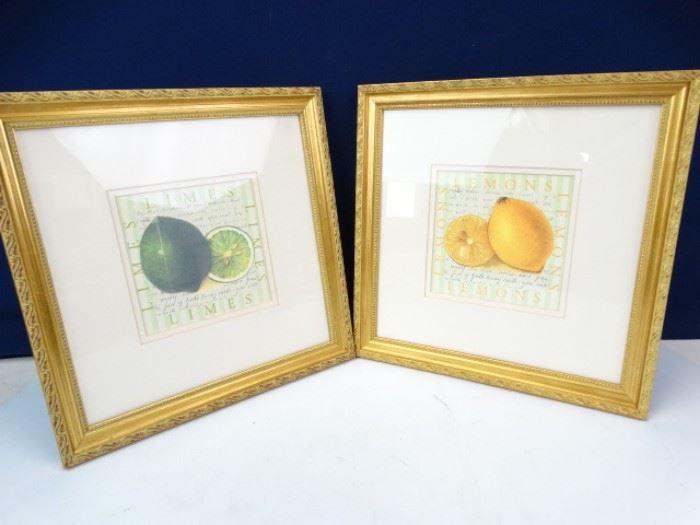Lemon Lime Print Art