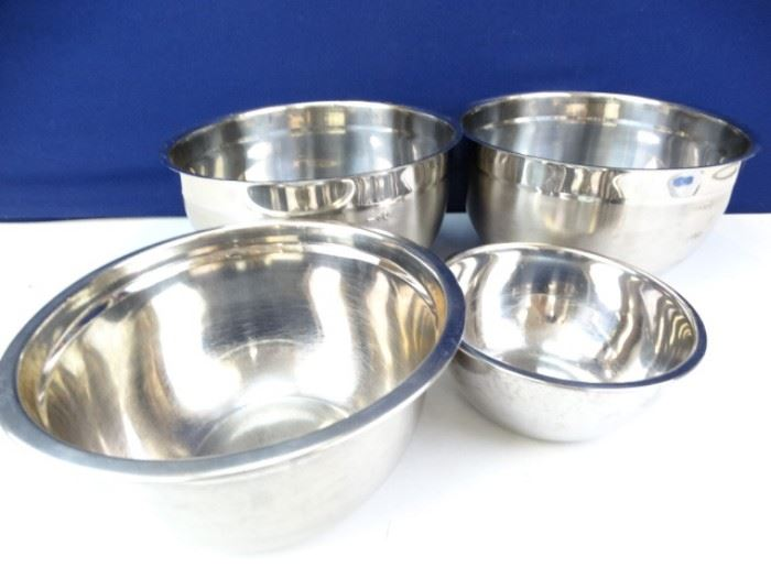Steel Mixing Bowls