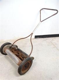 Vintage Push Lawnmower by Savage