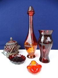 Decorative Glassware Set