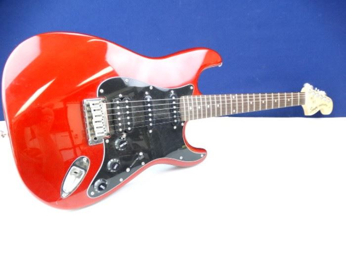 Squier Stratocaster By Fender Guitar 20th