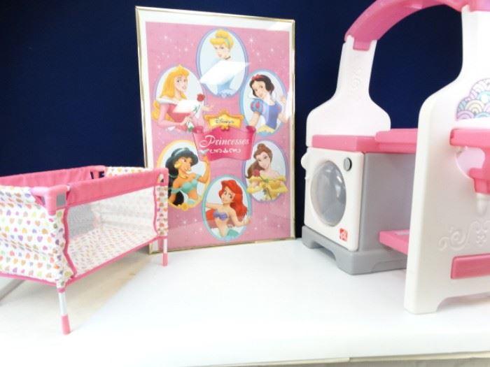Nursery Playset with Princess Poster