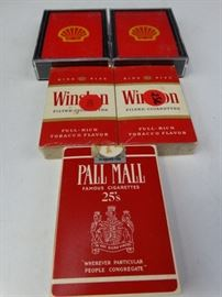 Winston & Shell Oil Playing Cards - 5