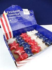 Celebrate America Floating Candles
