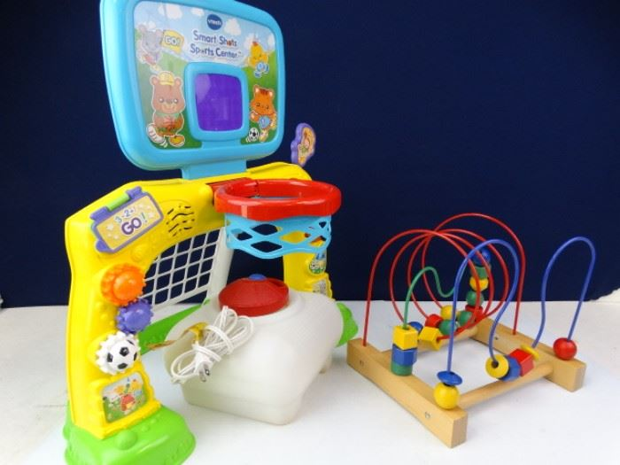 Childs Room Toys and Humidifier