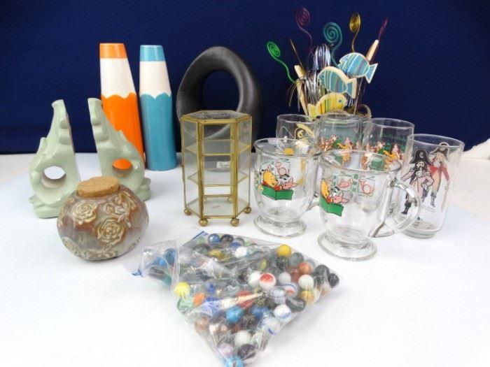 Miscellaneous Home Decor and Glassware