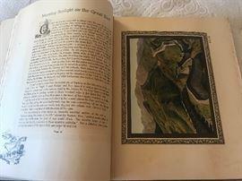 Beautiful folio prints some hand tinted.