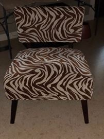 Side chair---perfect in living room or bedroom