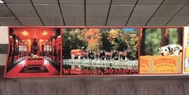 Stransky's Budweiser Clydesdales Poster 17.5' X 5'