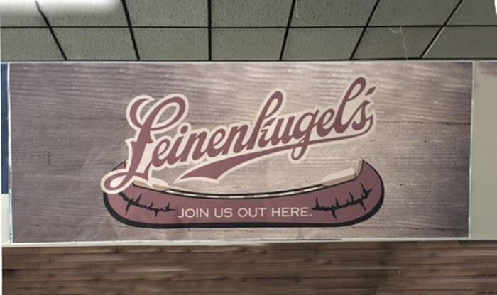 """Leinenkugel's With Canoe Poster, 5' x 13'2"""""""