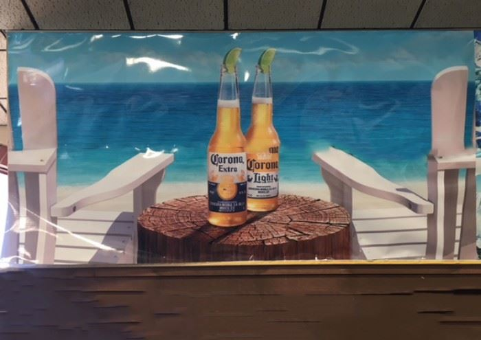 """Corona with Limes Poster, 5' x 10'1"""""""