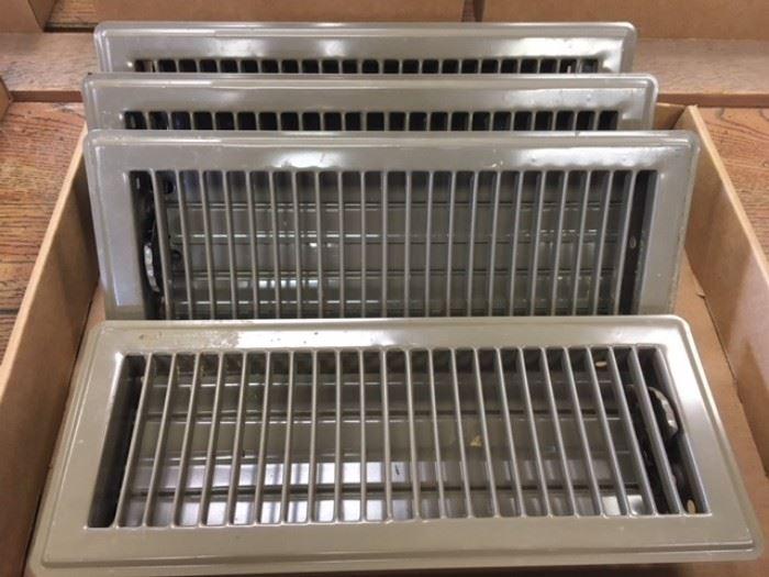 Set of 4 floor vent covers.