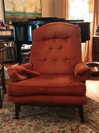 A Mid-Century Modern lounge chair