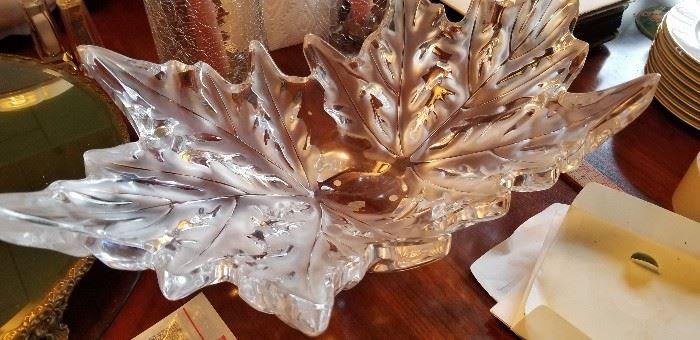 Lalique center piece