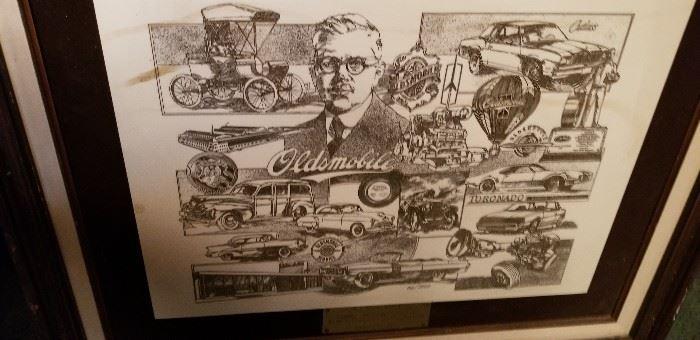 Oldsmobile memorbilia