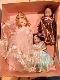 Madame Alexander and other dolls