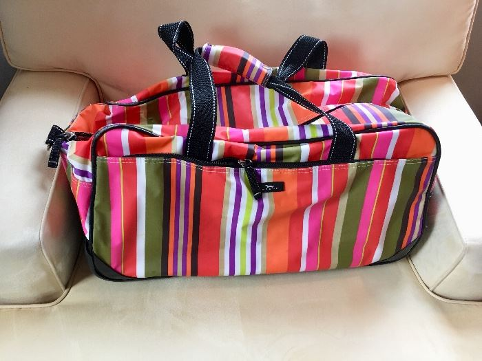Scout tote and rolling bag