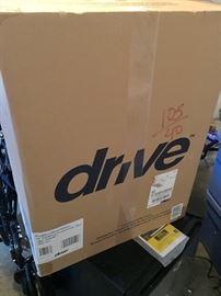 Drive medical 4 wheel walker (new in box)