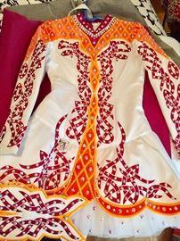 Celtic dance costumes