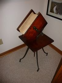 Large encyclopedia with stand