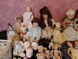 DOLLS AND DOLL PARTS