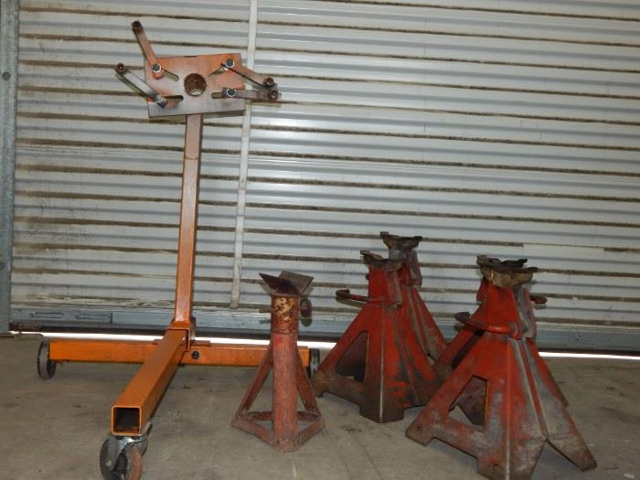 Engine Stand, Pipe Stand & Jacks (#1976)