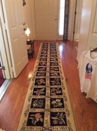 LONG LONG FOYER RUG!