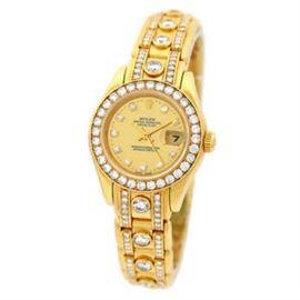 LOT534 Rolex Masterpiece with Diamonds