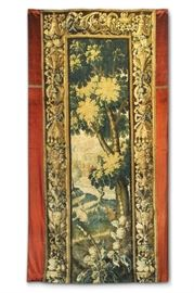 "LOT #7003 - 18TH C. FLEMISH TAPESTRY, 96"" L"