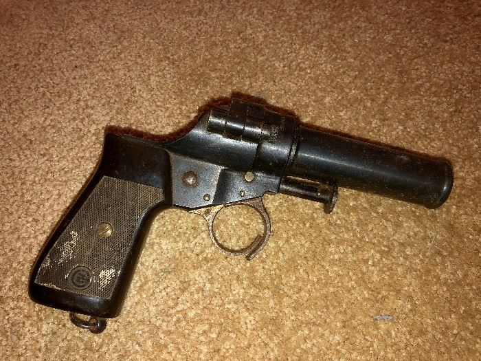 Vz30 Czech Flare Gun, produced for Nazi Germany during 1939-1945