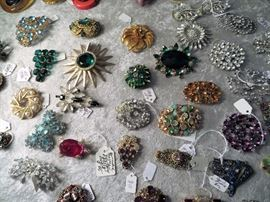 Another view of brooches.