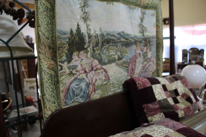 Just one of several tapestries