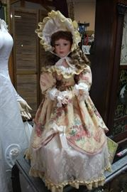 Early Victorian Doll