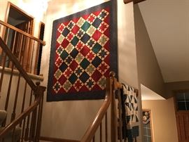 Variety of Handmade Quilts