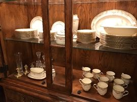 Noritake Barrymore fine china service for 10.