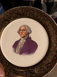 George Washington Plate