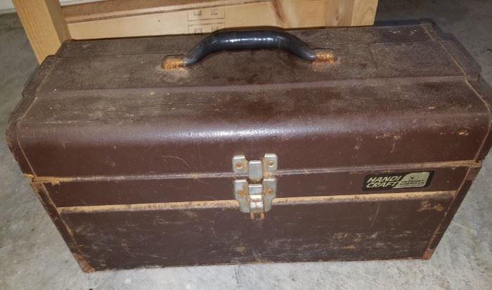 Vintage Handi Craft tool box