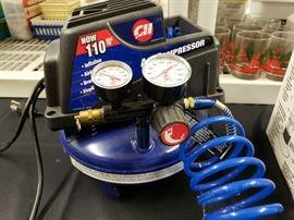 Small pancake compressor.