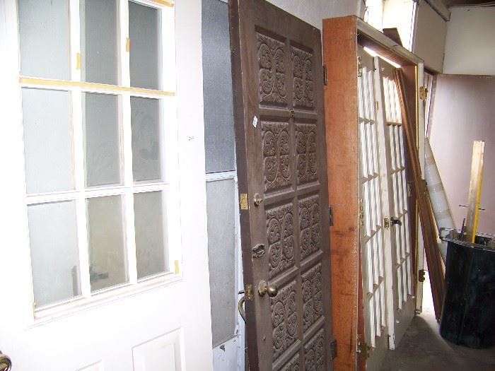 Lots of doors of many types.