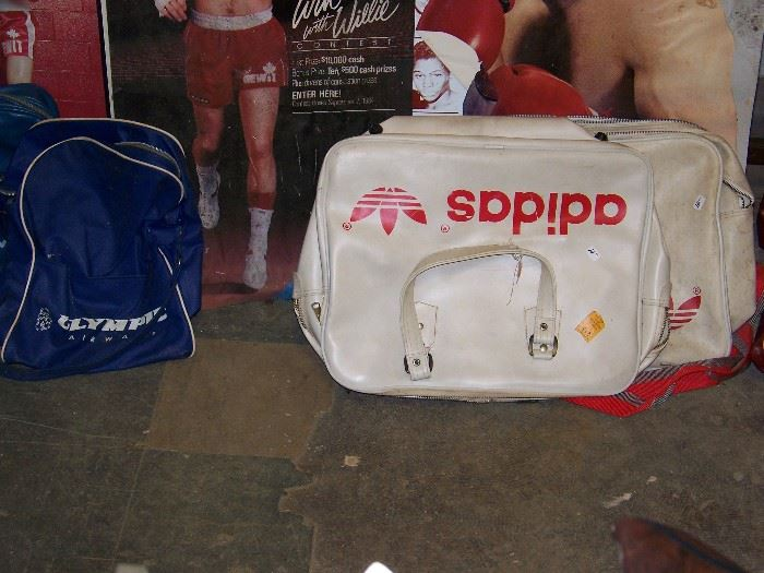 Old gym bags