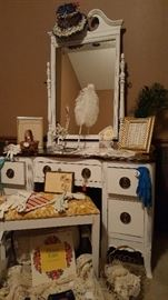 Striking re-purposed vanity