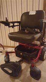 High-end Motorized Wheelchair ($1,200 retail). Needs battery.