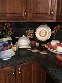Wide selection of Fall kitchenware and decor