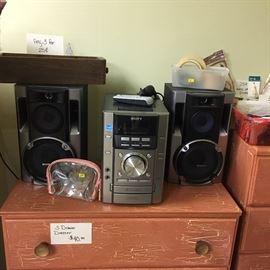 Sony shelf stereo