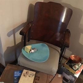 Antique theater chair